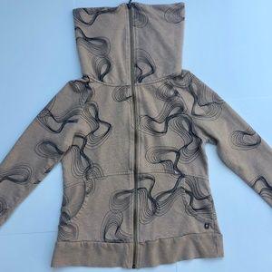 Gentle Fawn Zip Up Sweatshirt Jacket
